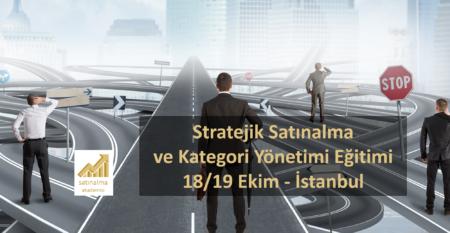 Stratejik Satınalma Eğitimi İstanbul Ekim 2019