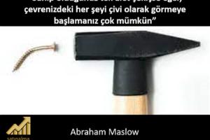 Maslow çekiç